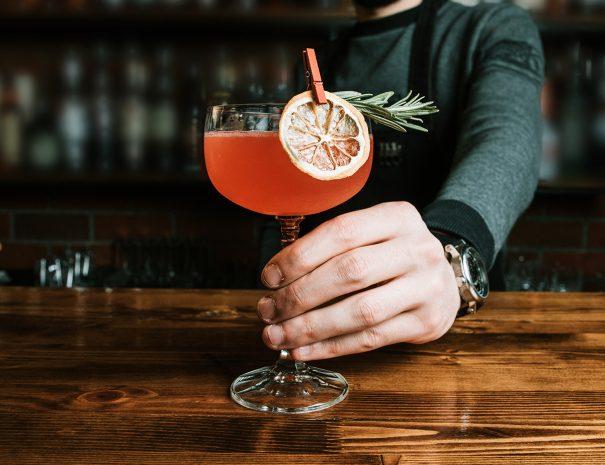 Cocktail Glass | The Kilbrackan Arms Hotel | Bar | Restaurant