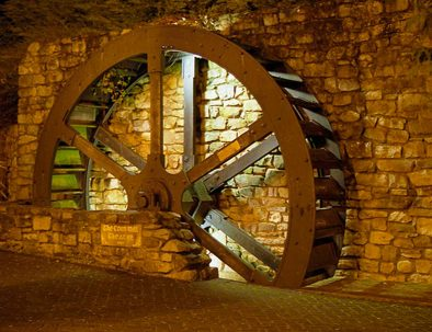 Corn Mill Theatre Mill Wheel | The Kilbrackan Arms Hotel | Bar | Restaurant