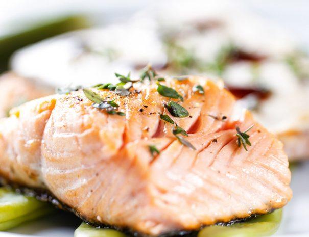 Salmon | The Kilbrackan Arms Hotel | Bar | Restaurant